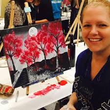 comment from kristy y of painting with a twist business owner