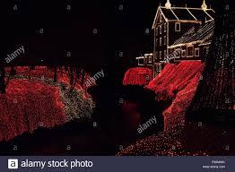 Clifton Mill Christmas Lights Clifton Mill Ohio Usa 18th Dec 2015 December 18 2015