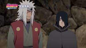Boruto's Time Travel Arc Sees Jiraiya Fight Alongside Sasuke - OtakuKart