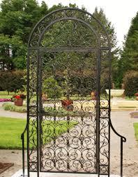 hand forged garden gate