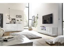 Kamerontwerp Eettafel Granada Hoogglans Wit Marmer Beton Eetkamer