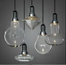 crystal pendant lighting. LED 3W Modern Creative Glass Pendant Lights Crystal Lamp For Bar Dining Room Designer Lighting Fixture PL205