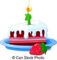 birthday cake slice clipart. Exellent Birthday Birthday Cake And Cake Slice Clipart