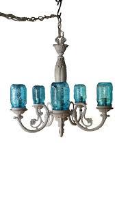 cottage mason jar chandelier. Cottage Chic Mason Jar Chandelier Rustic By MuttonHollowCottage D