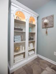 Shelves : Fabulous Bathroom Cabinet Shelves Hutch Cabinets With ...