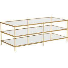 the west elm terrace coffee table is a glass coffee table from west elm it