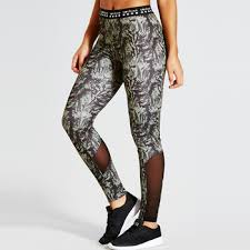 Patterned Yoga Pants Simple New Sexy Mesh Printed Patterned Fitted Custom Band Yoga Pants Womens