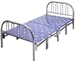 AFT Metal Foldable Bed  190 x 90 cm