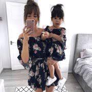 <b>Mom</b> & <b>Daughter</b> Matching <b>Outfits</b>