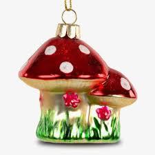 Sikora Christbaumschmuck Glas Ornament Pilz Fliegenpilz