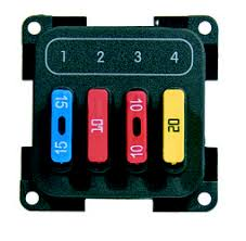 cbe electrical caravan motorhome 4 four fuse box module cbe caravan motorhome fuse box module