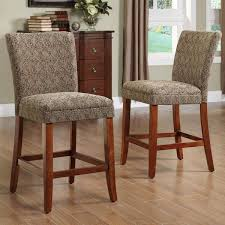 Elegant Counter High Chairs Ohana Counter Height Chair Black Set Of 2  Homelegance