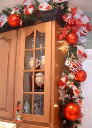 Kitchens Decorated For Christmas Holiday Kitchen Decor Miserv