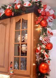 Christmas Decorations For Kitchen Kitchen Christmas Decor Miserv