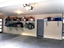 shelving ideas for garage wall install shelves diy storage scenic