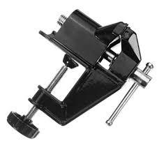 table vise. 50mm hobbyist aluminium alloy table clamp bench vise #0348 (black)
