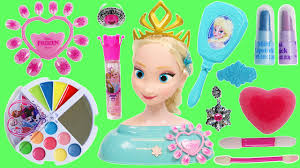 huge disney frozen makeup beauty kit queen elsa styling head playset you