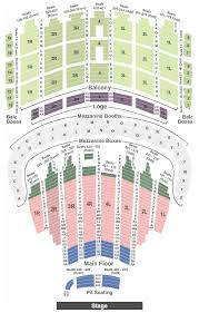 Chicago Symphony Seating Chart Chicago Theatre Seating Chart With Seat Numbers Tickpick