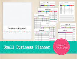 Printable Small Business Planner Home Business Planner