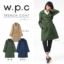 wpc raincoat fashion w p c kiu ku women s trench coat rain coat rainwear kappa rain wear coat