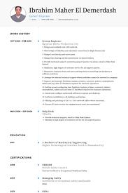 System Engineer Resume samples