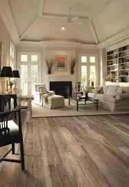 Plain Tile Floor Living Room Reclaimed Wood Look Without The Get This Intended Ideas
