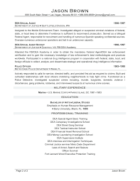Fbi Resume Template Resume Fbi Resume 4