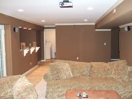 Innovative Finishing Basement Walls Ideas With Finish Basement - Finished basement ceiling