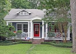 red door grey house. Top Red Door Grey House With Gray Bright Roof White Trim E