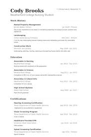 sample resume for apartment manager property manager resume example examples of resumes