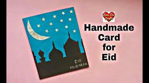 Eid Card Designs Handmade Eid Mubarak Card Making Diy Greeting Card For Ramadan Requested Video