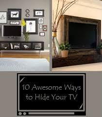 Hide your tv Nice The Perfect Diy 10 Awesome Ways To Hide Your Tv The Perfect Diy