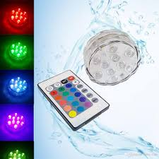 A Small Underwater Pool Light Is 1 M 2019 Battery Operated Ip68 Swiming Pool Light Rgb Submersible Led Underwater Light For Shisha Flower Tea Vase Garland Party Decorative Lights From