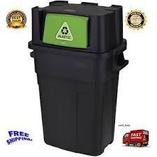 Image Is Loading NEW Rubbermaid 30 Gallon Kitchen Trash Can Recycling