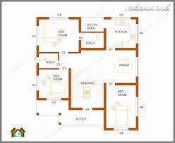 2 bedroom house plans kerala style 1200 sq feet new kerala style 3 bedroom single floor
