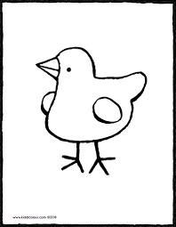 Kuiken Kiddicolour In Kleurplaat Kuiken Beste Kleurplaat Tekeningen