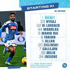 Napoli-Inter, gioca Di Lorenzo centrale - ilNapolista