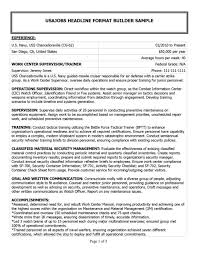Military Resume Examples By Mos Free Resumes Tips Samp Peppapp