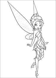 Tinkerbell Het Geheim Van De Vleugels Kleurplaat 2