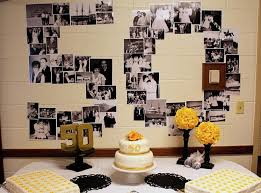 50th wedding anniversary decorations image source