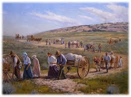 Pioneers The Handcart Song Flipchart Mormon Pioneers