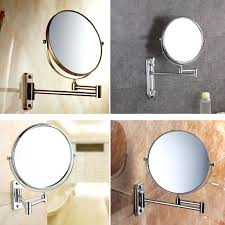 Wall Mirrors Extending Wall Mounted Shaving Mirror Wall Mounted