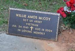 SGT Willie Amos McCoy (1943-2004) - Find A Grave Memorial