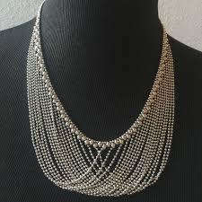 sergio gutierrez liquid metal collection necklace