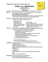 Good Resume Examples   Good Sample 1 - Larger Image   Things to ...