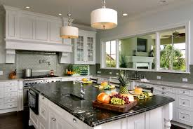 titanium granite white cabinets backsplash ideas