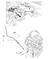 68261253ab genuine mopar cable shift 2012 ram 2500 gearshift lever cable and bracket diagram i2269530 at 68rfe transmission cooling system