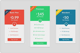 Pricing Table Templates 34 Best Pricing Table Psd Templates 2018 Templatefor