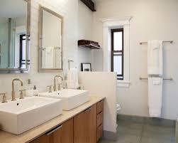 modern bathroom towel bars. Chrome Finished Double Towel Bar For Modern Bathroom Ideas With Grey Ceramic Floor Tiles Bars E
