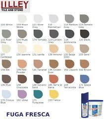 Mapesil Sealant Colour Chart Fuga Fresca 100 White Singles 160grm